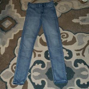H&M Super Skinny High Waist Jeans Size 26x30